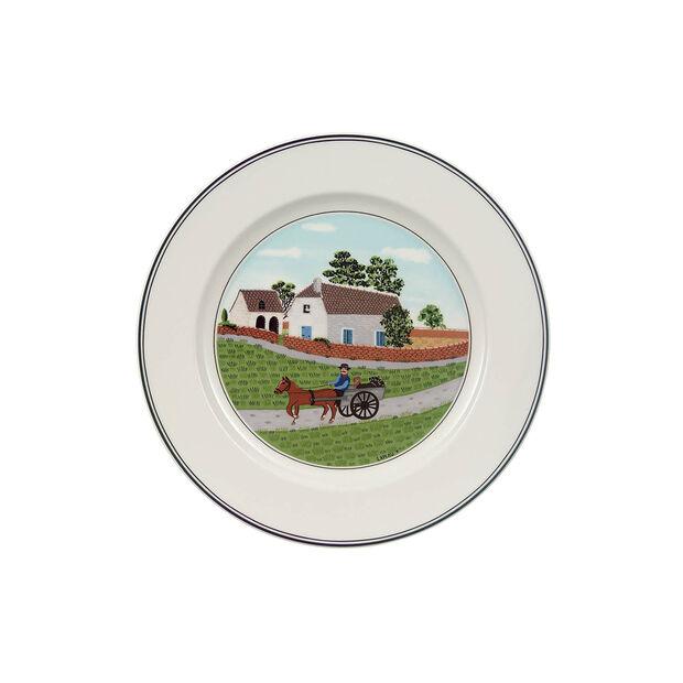 Design Naif breakfast plate Farmer, , large