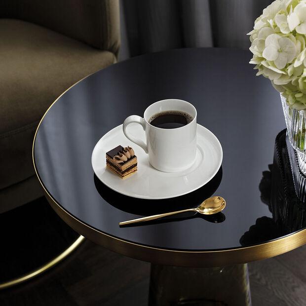 MetroChic blanc Saucer coffee/tea cup, , large