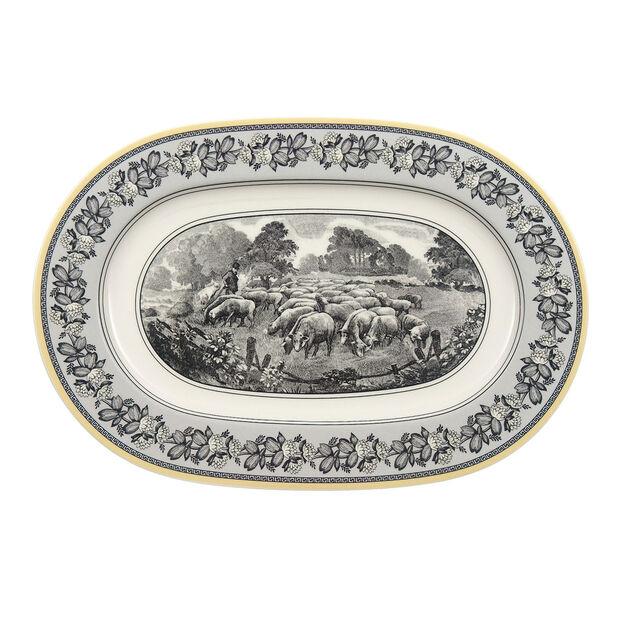 Audun Ferme Oval platter  34cm, , large