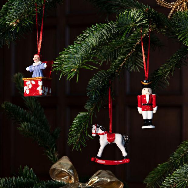Nostalgic Ornaments ornament set toys, multicoloured, 3 pieces, 9.5 cm, , large