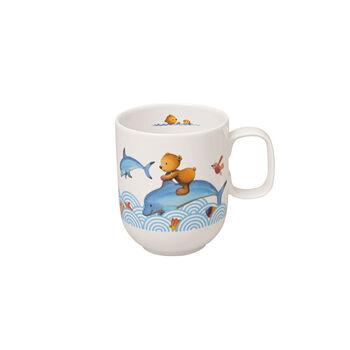 Happy as a Bear Children mug large 11,5x8x9,5cm