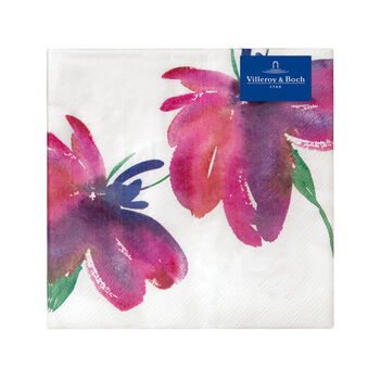 Paper Napkins Artesano Flower Art Lunch, 20 pieces, 33x33cm