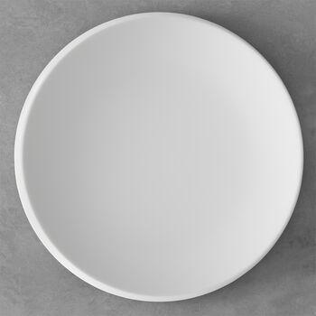 NewMoon gourmet plate, 32 cm, white