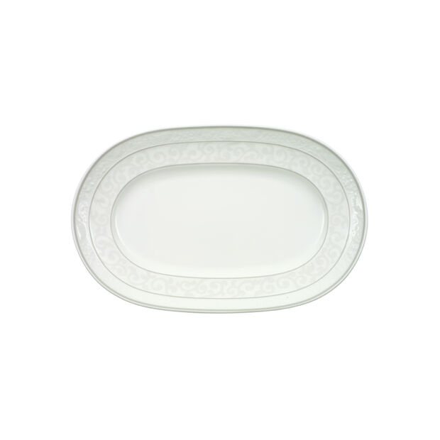 Gray Pearl pickle dish 22 cm, , large