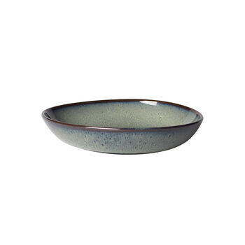 Lave Gris small shallow bowl