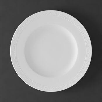 White Pearl dinner plate