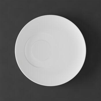 MetroChic blanc Saucer tea cup 18,5x18,5x2cm