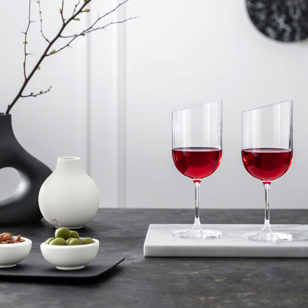 NewMoon red wine glass set, 405 ml, 4 pieces, , large