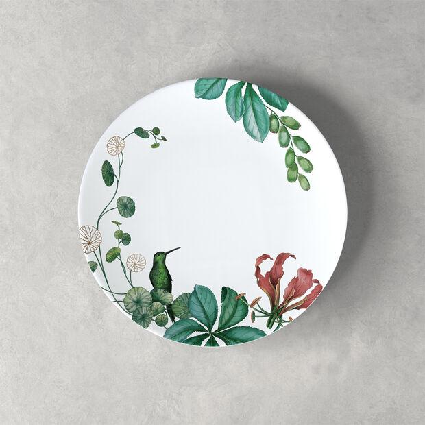 Avarua dessert/breakfast plate, 22 cm, white/multicoloured, , large