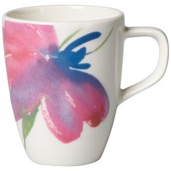 Artesano Flower Art mocha/espresso cup
