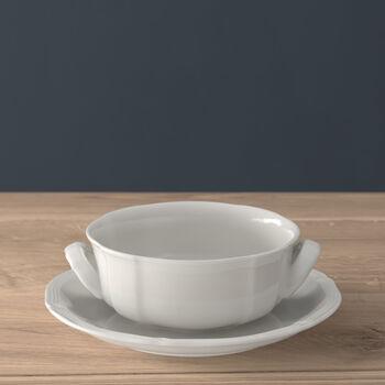 Manoir Soup cup & saucer 2pcs