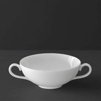 White Pearl soup cup
