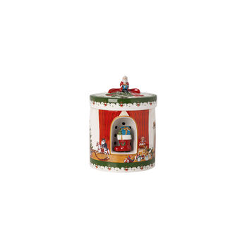 Christmas Toys gift box round, 2021 17x17x22 cm