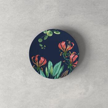 Avarua bread plate, 16 cm, blue/multicoloured