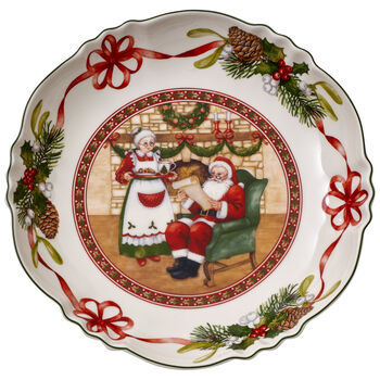 Toy's Fantasy large Santa's home bowl