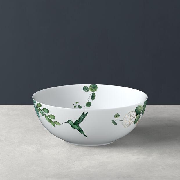 Avarua salad bowl, 23 cm, white/multicoloured, , large