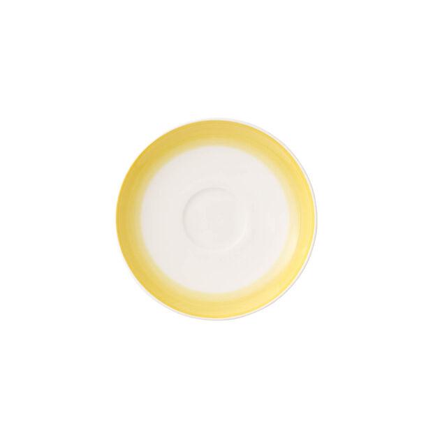 Colourful Life Lemon Pie espresso/mocha cup saucer, , large