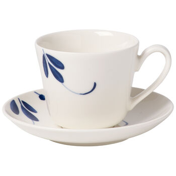 Old Luxembourg Brindille Espresso cup & saucer 2pcs