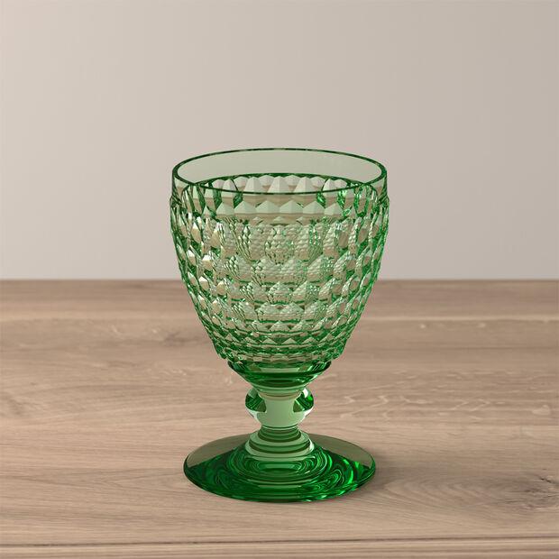 Boston Coloured White wine glass Green, , large
