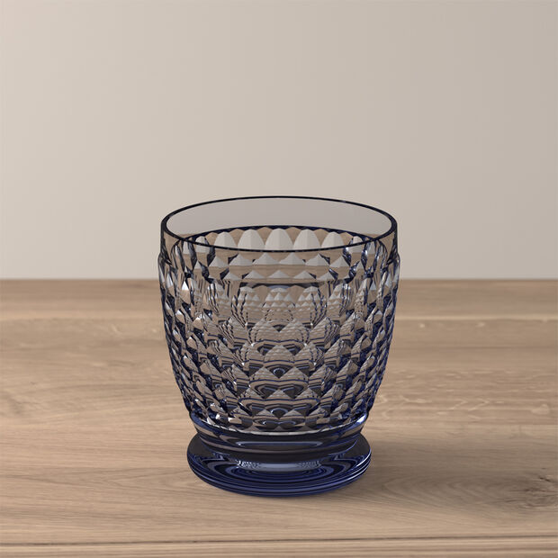 Boston Coloured Water/cocktail tumbler Blue, , large