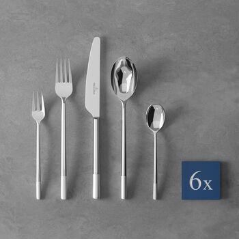 Ella satin Cutlery set 30pcs 42x27x5cm