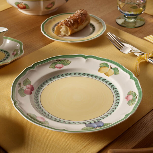 French Garden Fleurence dinner plate, 6 pieces, , large