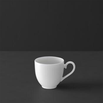 White Pearl mocha/espresso cup