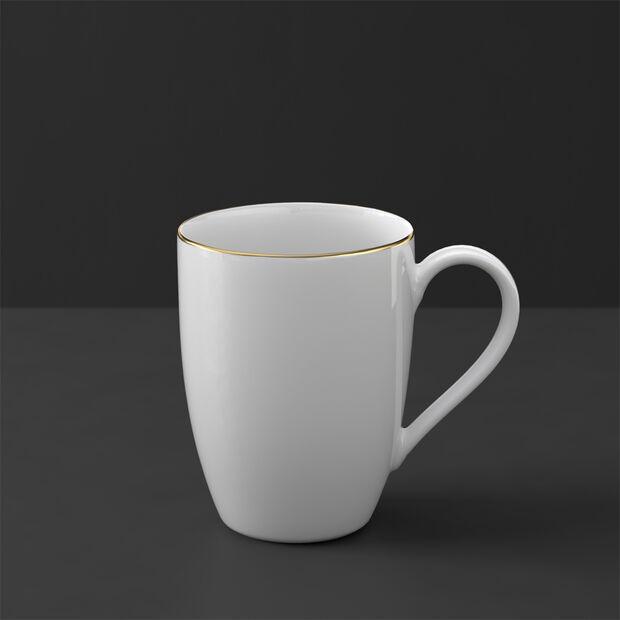 Anmut Gold mug, white/gold, , large
