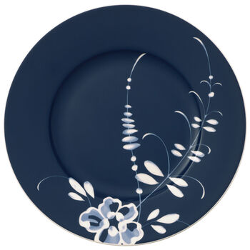 Old Luxembourg Brindille blue breakfast plate