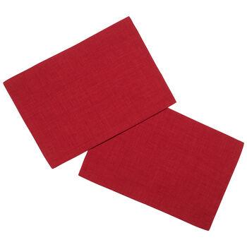 Textil Uni TREND Placemat red S2 35x50cm
