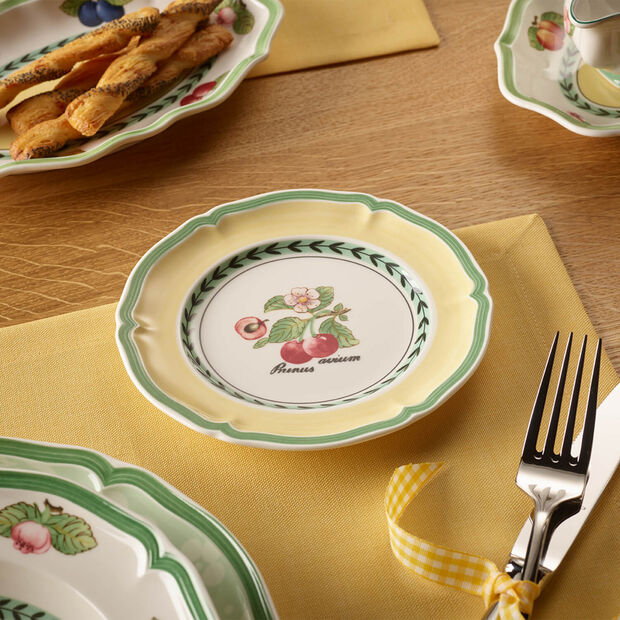 French Garden Valence bread plate, , large