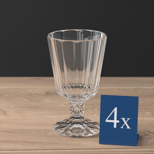 Opéra white wine goblet 4-piece set, , large