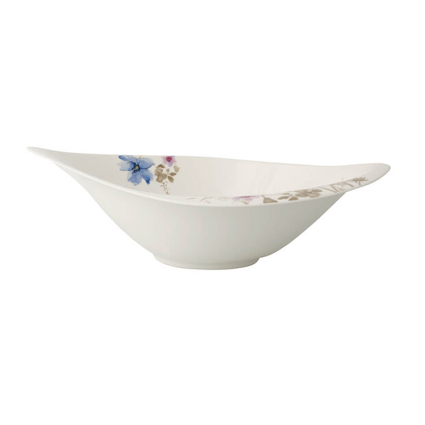 Mariefleur Gris Serve & Salad salad bowl 36 x 24 cm, , large