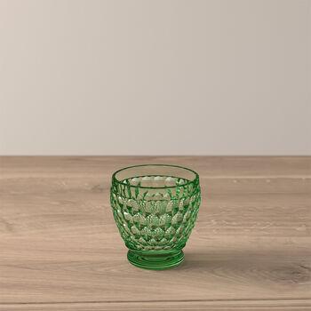 Boston Coloured Shot glass Green