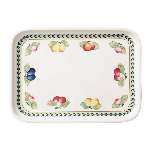 French Garden baking dishes Serving dish / Rectangular Cover 36x26cm, , large