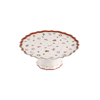 Toy's Delight small footed cake plate