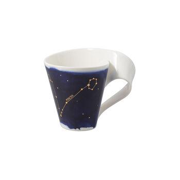 NewWave Stars mug Pisces, 300 ml, blue/white