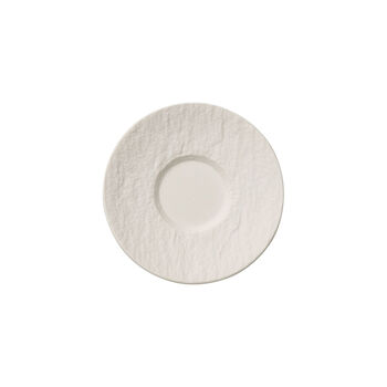 Manufacture Rock blanc Saucer espresso cup 12x12x2cm