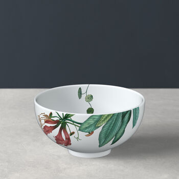 Avarua soup bowl, 480 ml, white/multicoloured