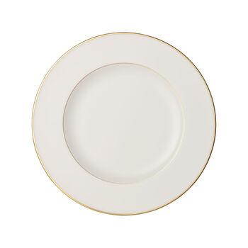 Anmut Gold dinner plate, 27 cm diameter, white/gold