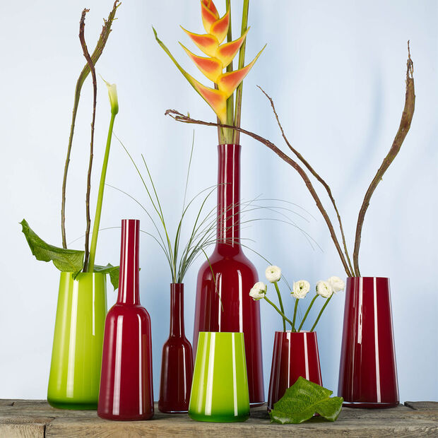 Numa Vase deep cherry 340mm, , large