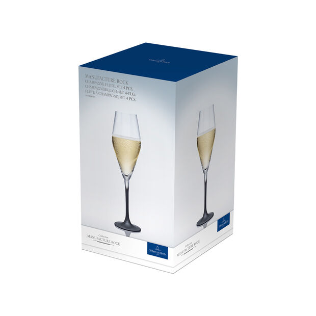 Manufacture Rock champagne glass, 4 pieces, 260 ml, , large
