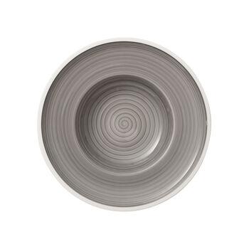 Manufacture gris Deep plate 25cm