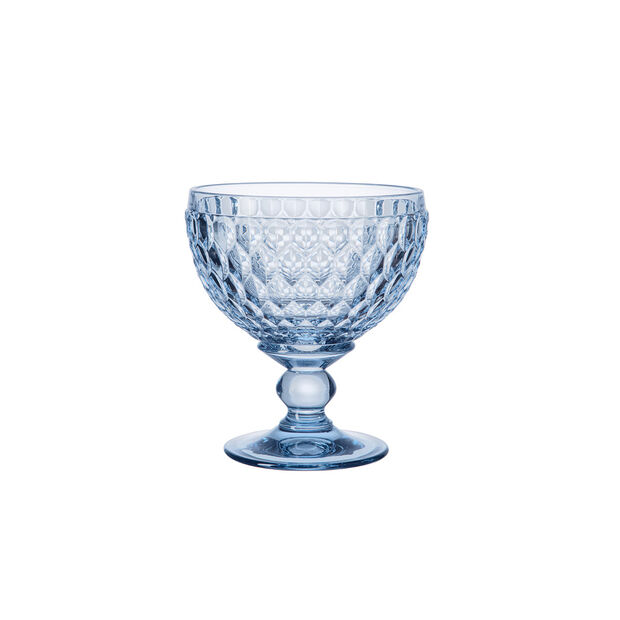 Boston Coloured champagne coupe/dessert bowl, blue, 12.5 cm, , large