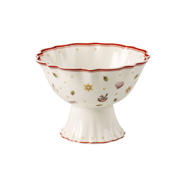 Toy's Delight footed dessert bowl, , large