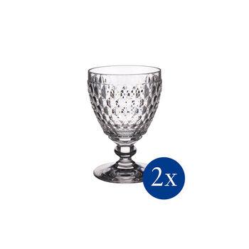Boston White wine goblet, Set 2 pcs