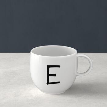 Letters Mug E 13x10x8cm