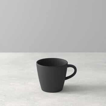 Manufacture Rock espresso cup, black/grey, 8.5 x 6.5 x 6 cm