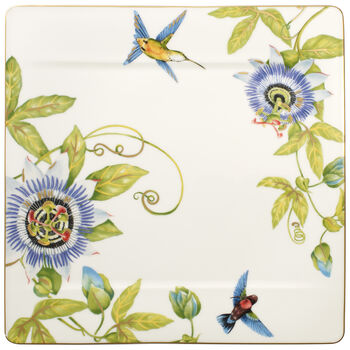 Amazonia gourmet plate 35 x 35 cm