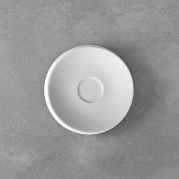 NewMoon espresso cup saucer, white